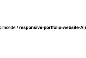 Bedimcode/responsive-portfolio-website-Alexa
