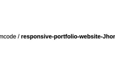 Bedimcode/responsive-portfolio-website-JhonDoe