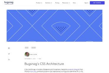 Bugsnag's CSS Architecture