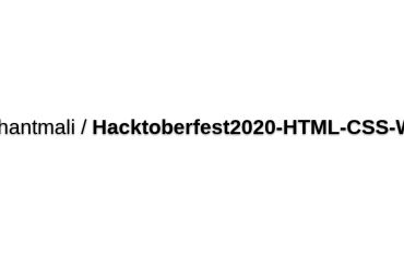 Dikshantmali/Hacktoberfest2020-HTML-CSS-WEB