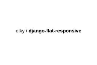 Elky/django-flat-responsive