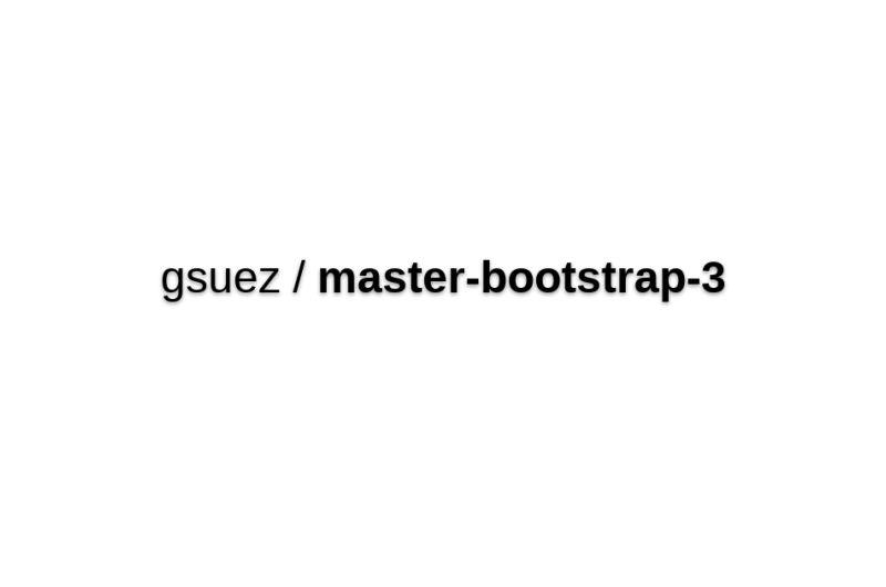 Gsuez/master-bootstrap-3