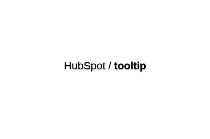 HubSpot/tooltip