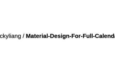 Jackyliang/Material-Design-For-Full-Calendar
