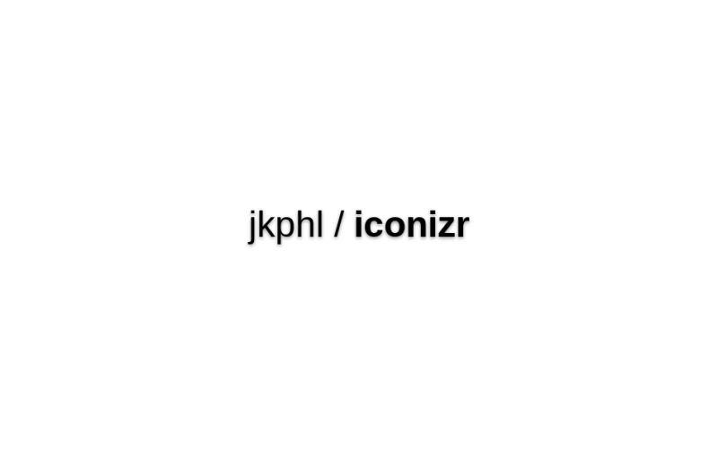 Jkphl/iconizr