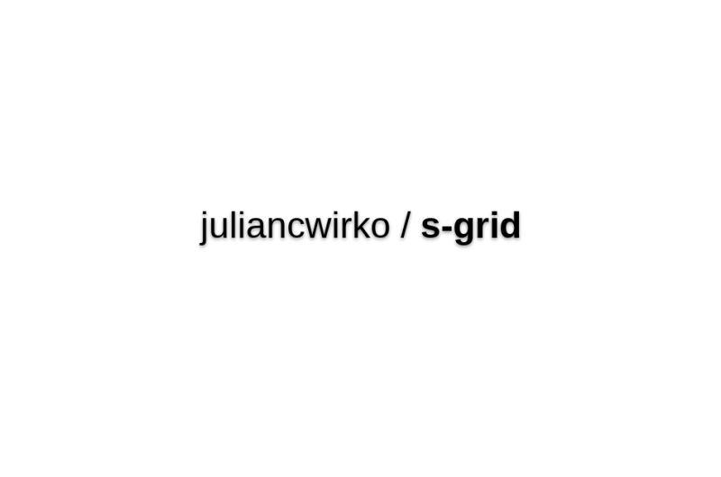 Juliancwirko/s-grid