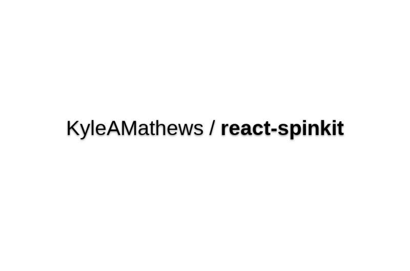 KyleAMathews/react-spinkit