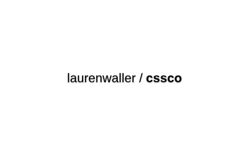 Laurenwaller/cssco