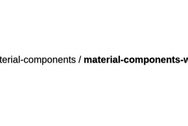 Material-components-web