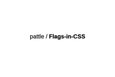 Pattle/Flags-in-CSS