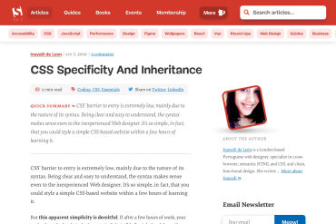 Specificity And Inheritance