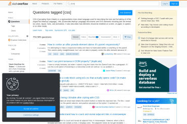 StackOverflow (CSS)