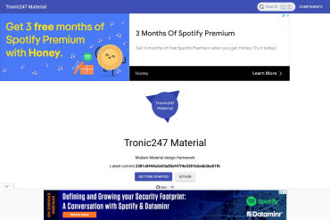 Tronic247 Material