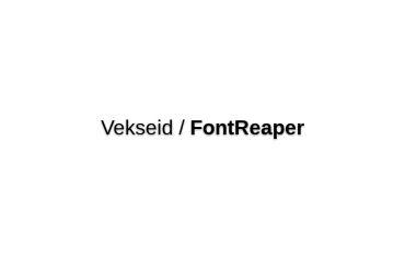 Vekseid/FontReaper