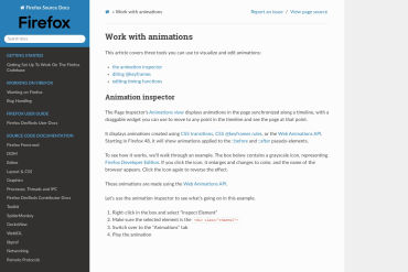 Work With Animations