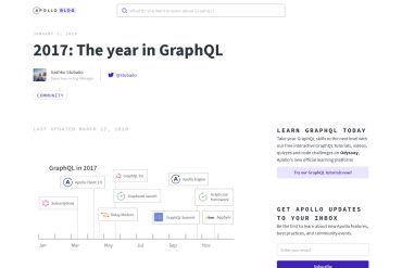2017: The Year In GraphQL