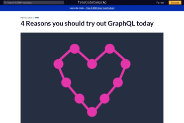 4 Reasons You Should Try Out GraphQL