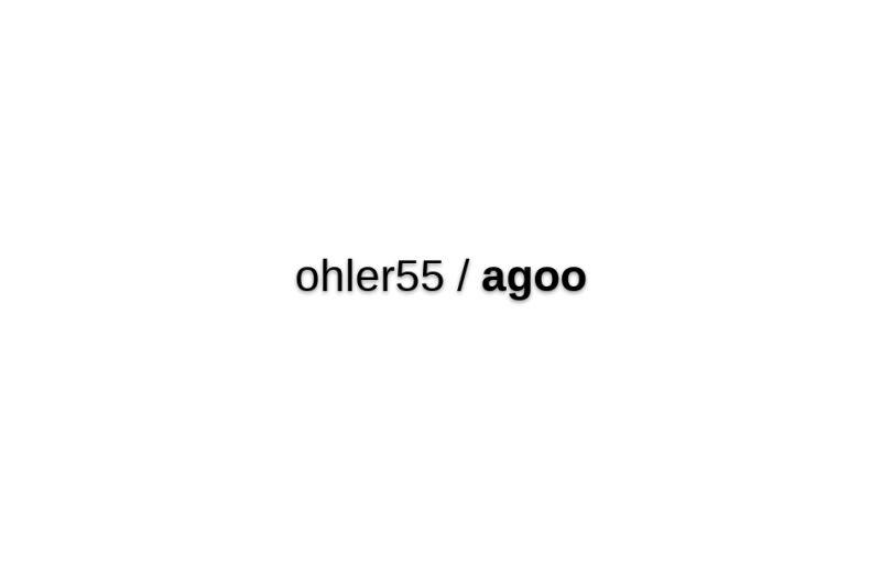 Agoo-demo