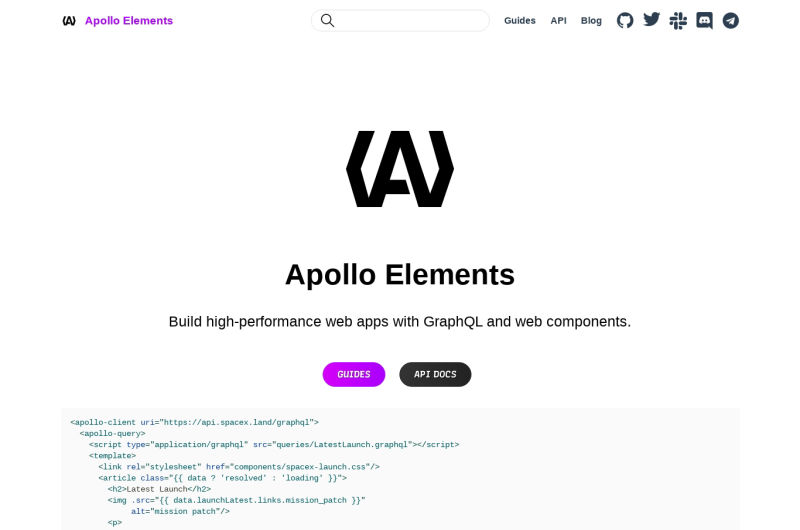 Apollo Elements