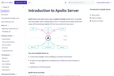 Apollo Server Tools Documentation