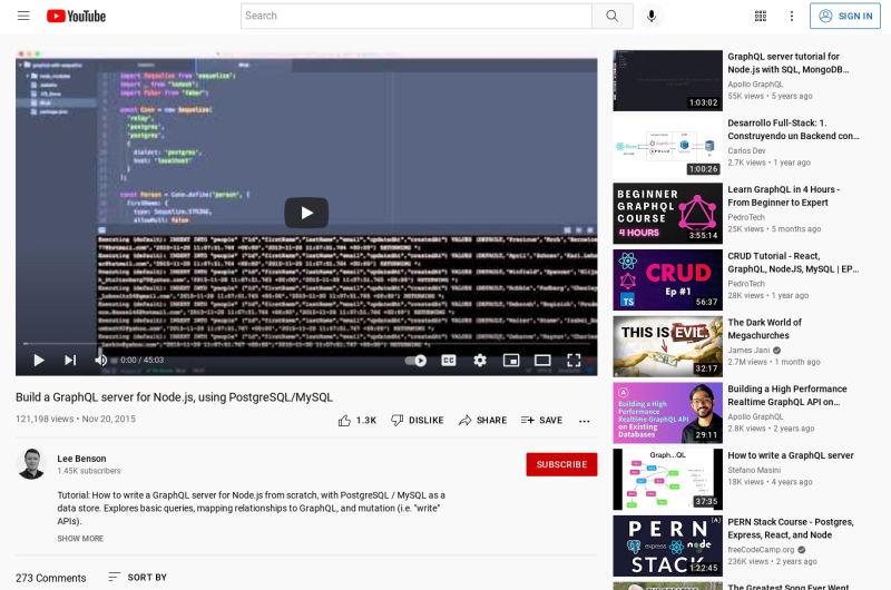 Build A GraphQL Server For Node.js Using PostgreSQL/MySQL