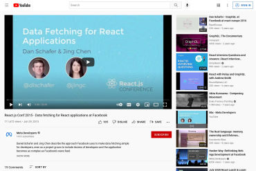 Data Fetching For React Applications At Facebook
