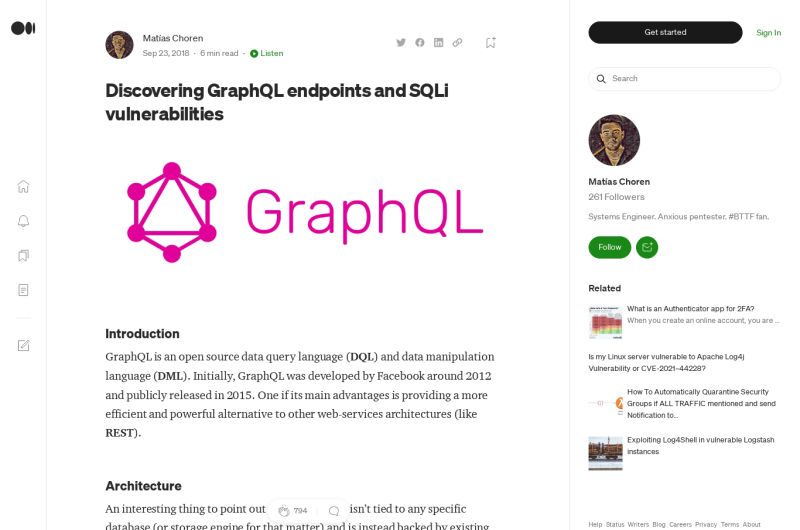 Discovering GraphQL Endpoints And SQLi Vulnerabilities