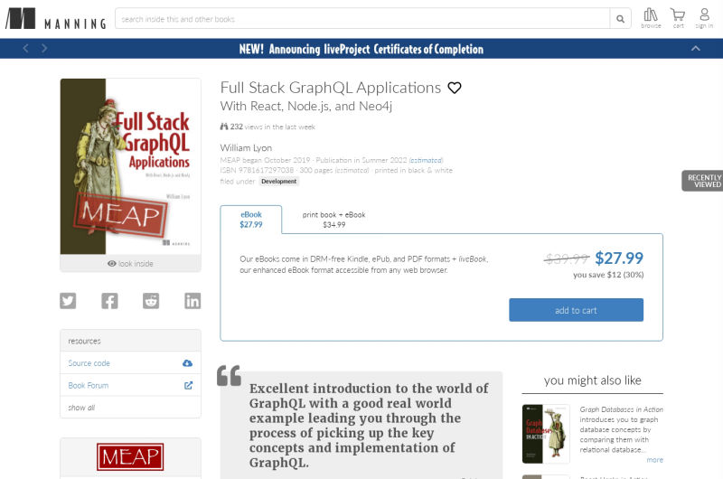 Fullstack GraphQL Applications With GRANDstack