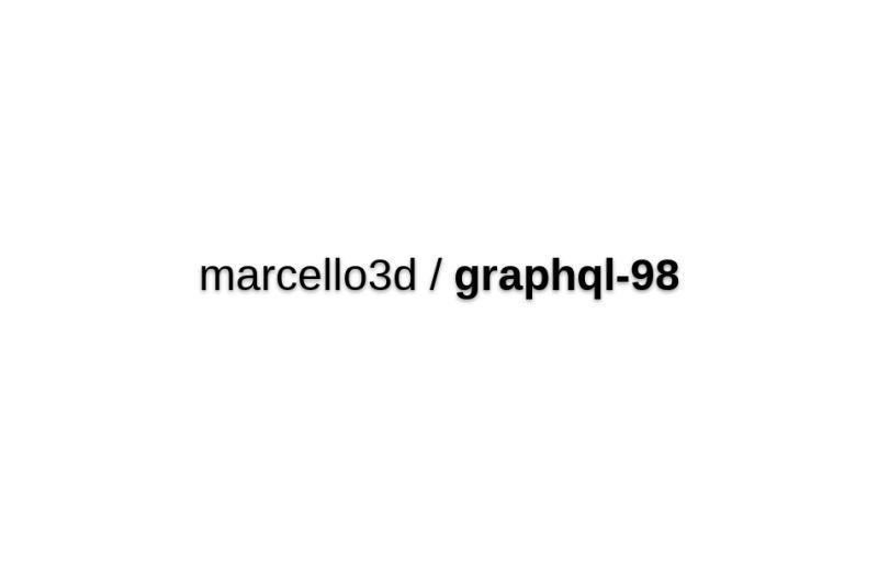 GraphQL '98