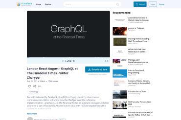 GraphQL At The Financial Times