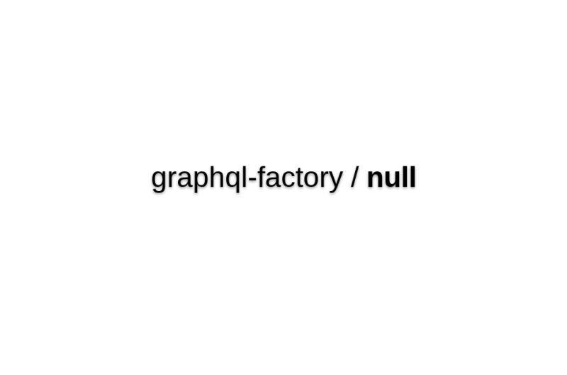 Graphql-factory