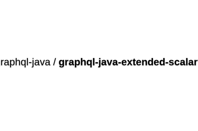 Graphql-java-extended-scalars