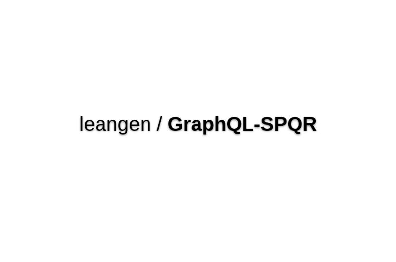 Graphql-spqr