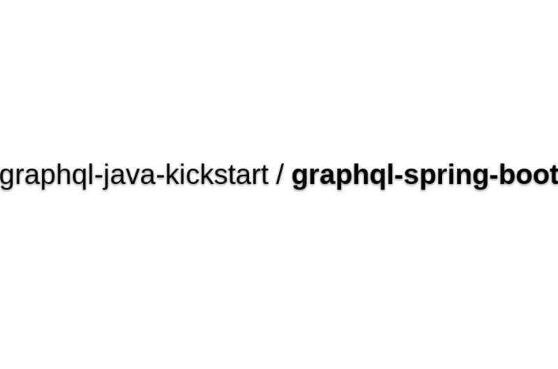 Graphql-spring-boot
