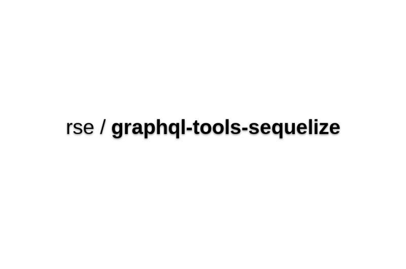Graphql-tools-sequelize