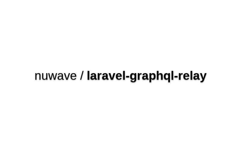 Laravel-graphql-relay