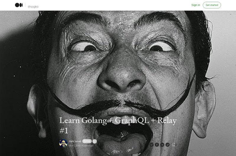 Learn Golang + GraphQL + Relay, Part 1: Your First Golang GraphQL Server