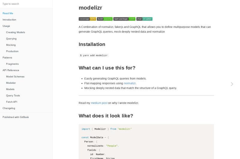 Modelizr Documentation