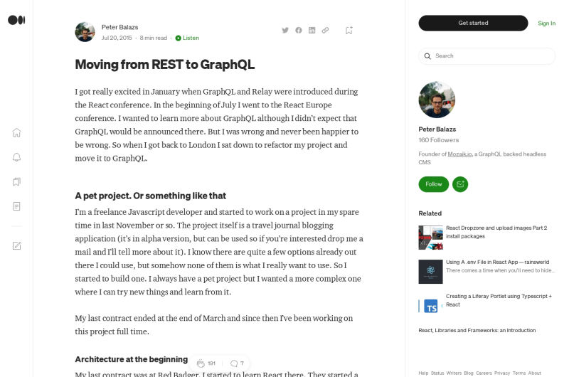 Moving From REST To GraphQL