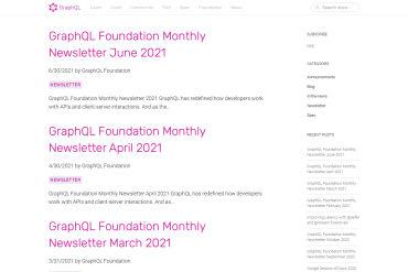 Official GraphQL Blog