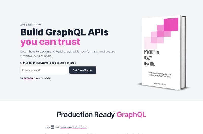 Production Ready GraphQL