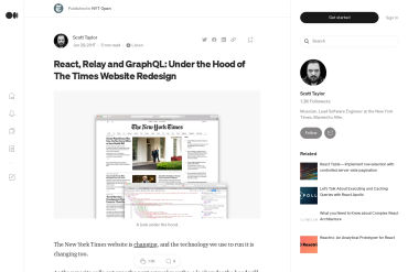 React, Relay And GraphQL: Under The Hood Of The Times Website Redesign
