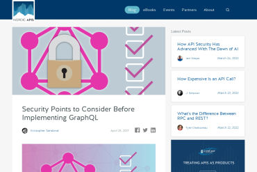 Security Points To Consider Before Implementing GraphQL