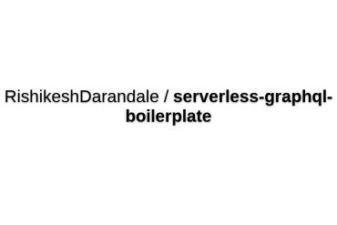 Serverless Apollo Graphql