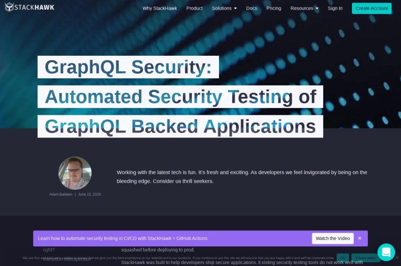 StackHawk - GraphQL Vulnerability Scanner