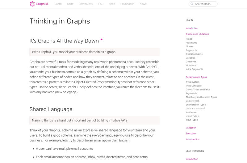 Thinking In Graphs