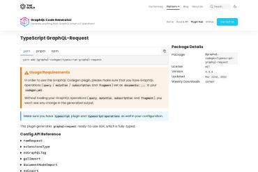 Typescript-graphql-request