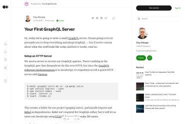 Your First GraphQL Server
