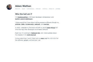 Adam Wathan
