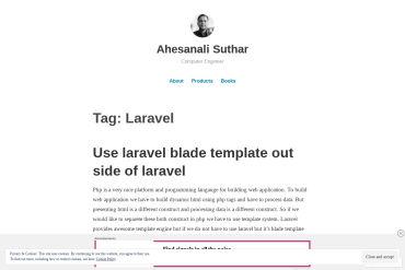 Ahesanali Suthar